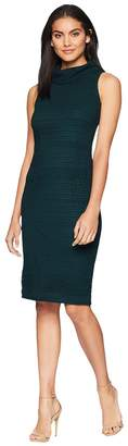 Adrianna Papell Cable Knit Lace Sheath Women's Dress