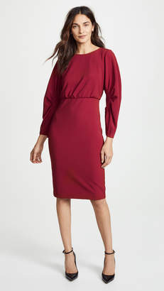 Badgley Mischka Crew Neck Dress