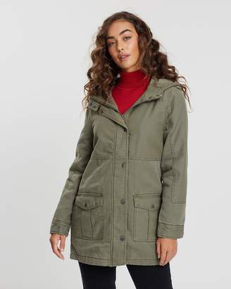 All About Eve Lucy Utility Jacket