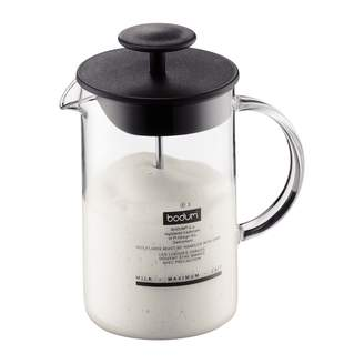 Bodum Latteo Milk Frother with Glass Handle 250ml
