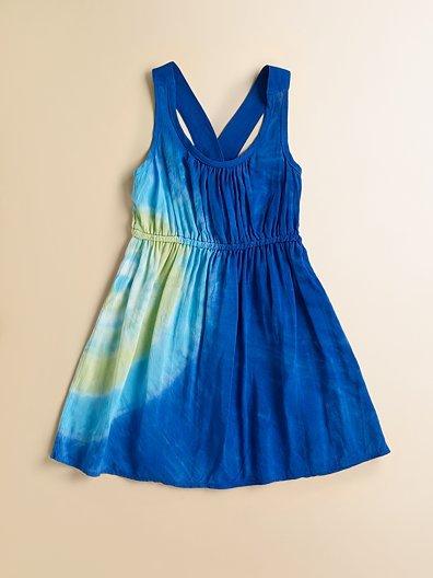 Little Ella Toddler's & Little Girl's Tie Dyed Dress