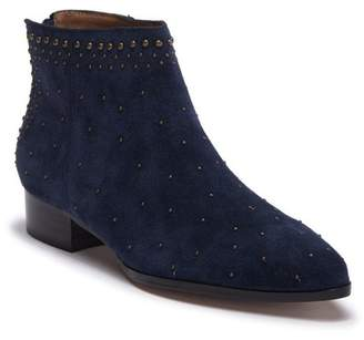 Bettye Muller Frederika Studded Suede Ankle Boot