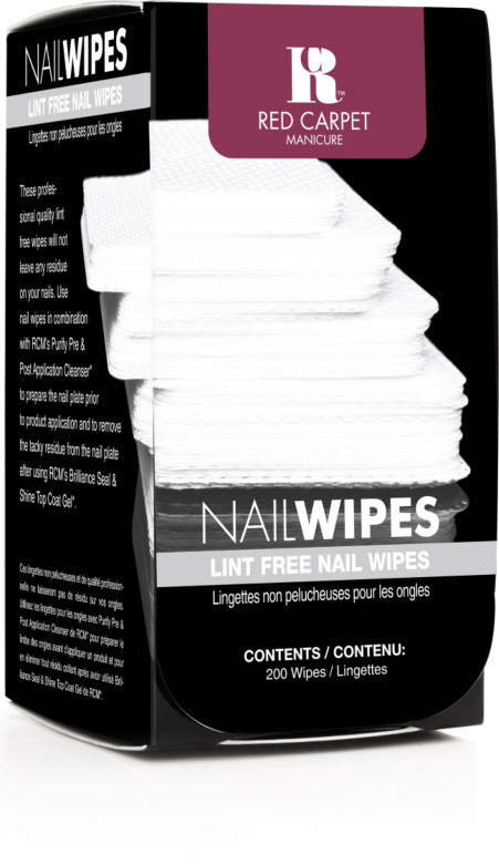 Red Carpet Manicure Nail Wipes