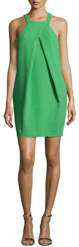 Trina Turk Felisha Sleeveless Crepe Mini Dress, Mojito