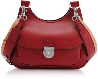 Tory Burch Genuine Leather The James Saddlebag