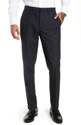 Topman Alsager Slim Fit Check Suit Pants