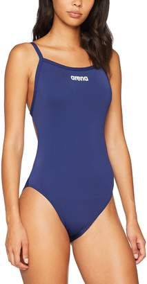 Arena Women's Solid Lightech High Swimsuit