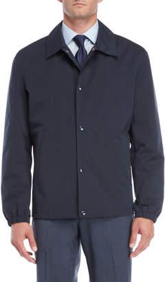 Cole Haan Navy Short Rain Jacket