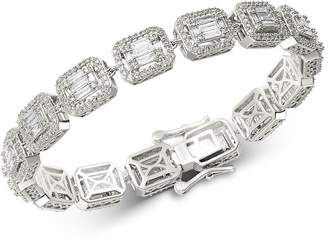 Bloomingdale's Diamond Mosaic Statement Bracelet in 14K White Gold, 4.0 ct. t.w. - 100% Exclusive