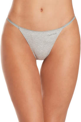Calvin Klein Solid G-String Thong
