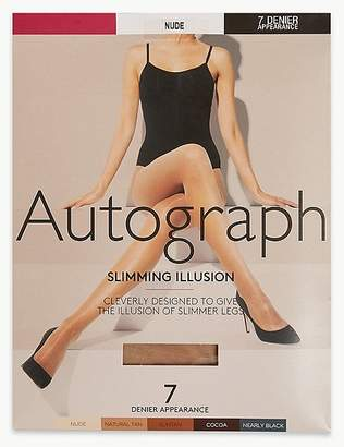 """Marks and Spencer 7 Denier Cool Comfortâ""""¢ Slimming Illusion Sheer Tights"""