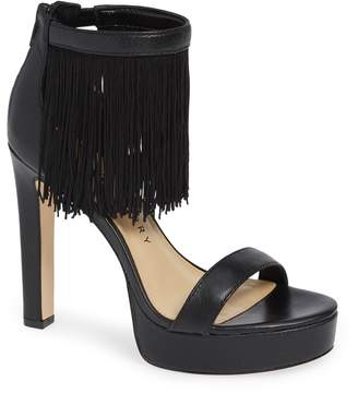 Katy Perry Fringed Platform Sandal