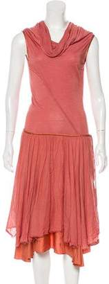 Gary Graham Sleeveless Midi Dress