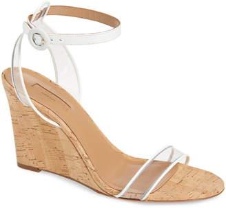 3cd1d5b127a Aquazzura Minimalist Ankle Strap Wedge