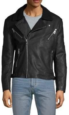 Eleven Paris Full Zip Moto Jacket