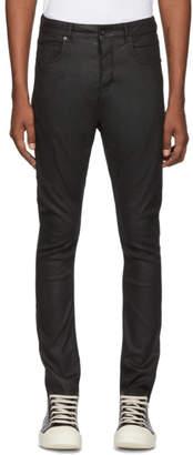 Rick Owens Black Detroit Cut Jeans