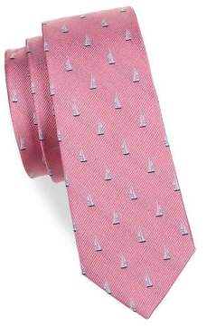 Lauren Ralph Lauren Boy's Sailboat Silk Tie