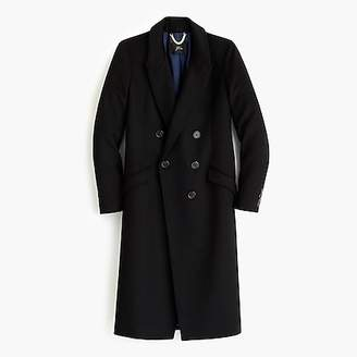 J.Crew Long double-breasted topcoat in wool-cashmere