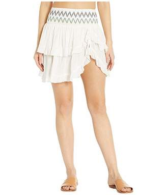 SOLUNA SWIM Heat Wave Ruffle Skirt Cover-Up