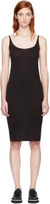 Raquel Allegra Black Jersey Tank Dress