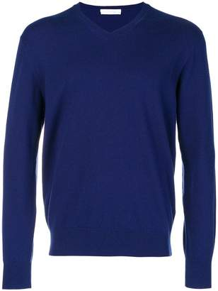 Cruciani cashmere V-neck sweater