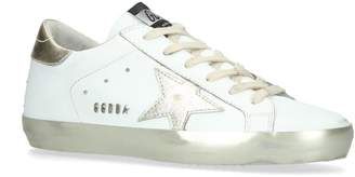 Golden Goose Metallic Superstar Sneakers