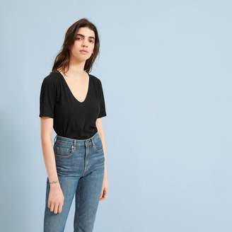 Everlane The Air Oversized V-Neck Tee
