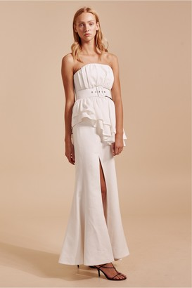 C/Meo Collective SILENCED GOWN ivory