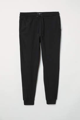 H&M Slim Fit Sweatpants - Black