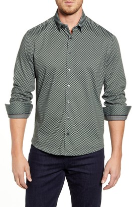 Stone Rose Regular Fit Button-Up Shirt