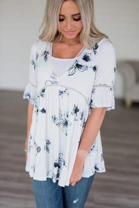Charlotte Floral Tunic