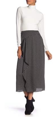 Vince Camuto Asymmetrical Ruffle Midi Skirt