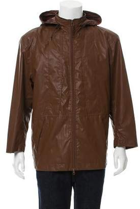 Issey Miyake Lightweight Hooded Jacket