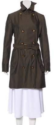 Stella McCartney Double-Breasted Knee-Length Coat
