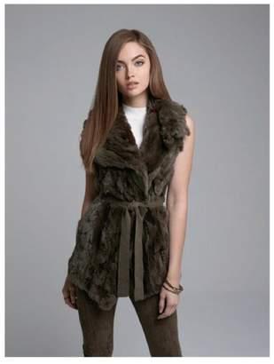 Alberto Makali Rabbit Fur Vest