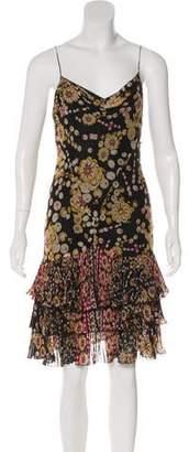 Diane von Furstenberg Couralie Silk Midi Dress