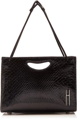 Hayward 1712 Mini Glazed Python Bag