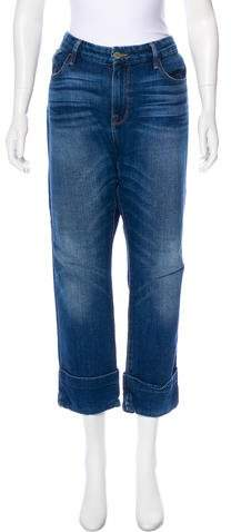 High-Rise Le Grand Garcon Jeans