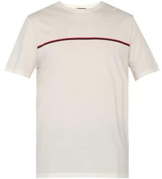 A.P.C. Yukuta Striped Cotton T Shirt - Mens - Cream