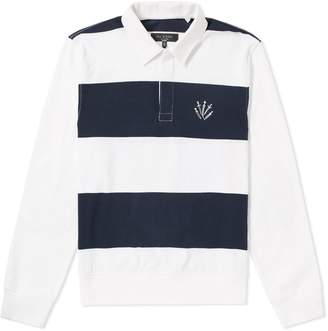 Rag & Bone Long Sleeve Rigby Rugby Shirt