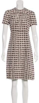 Louis Vuitton Silk Knee-Length Dress w/ Tags