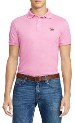 Ralph Lauren Purple Label Short Sleeve Logo Polo