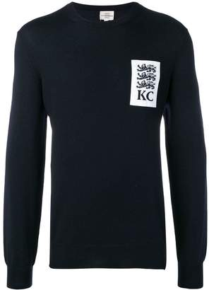 Kent & Curwen three lions sweater