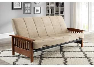 Better Homes & Gardens Better Homes and Gardens Mission Wood Arm Futon, Multiple Colors