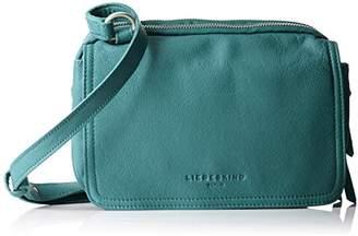 Liebeskind Berlin Maike7 Vintag, Women's Cross-Body Bag, Grün (Moss Green), 10x23x17 cm (B x H T)