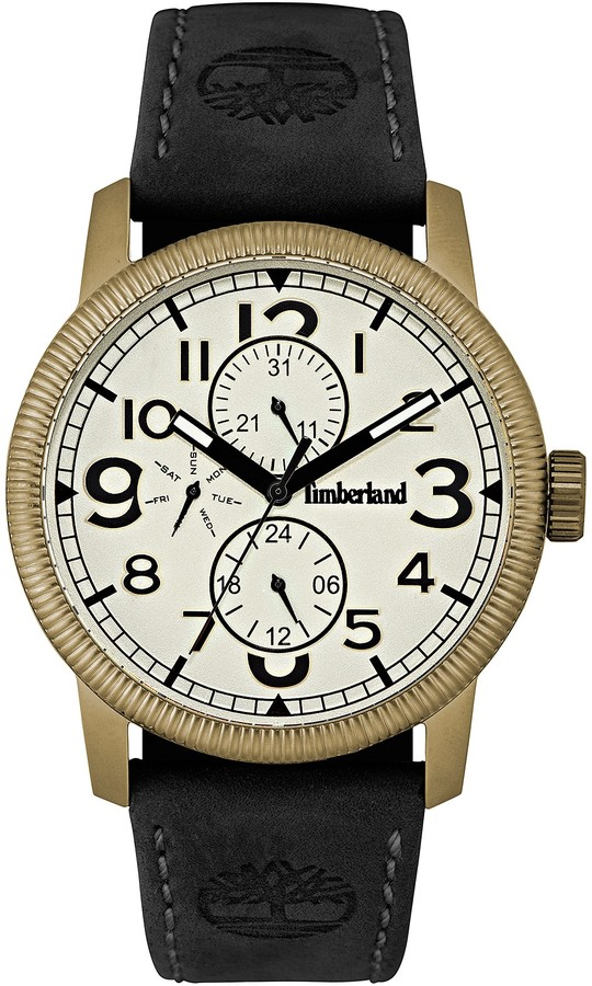 Timberland Timberland Men's Black Strap Watch