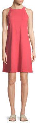 Three Dots Halter Sleeveless Muscle Dress