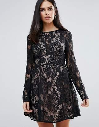 The Jetset Diaries Pizzo Mini Dress