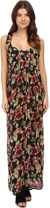 Volcom Ruffle Feather Dress Women's Dress