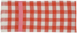 One Kings Lane Set of 2 Colorpop Dishtowels - Red/White